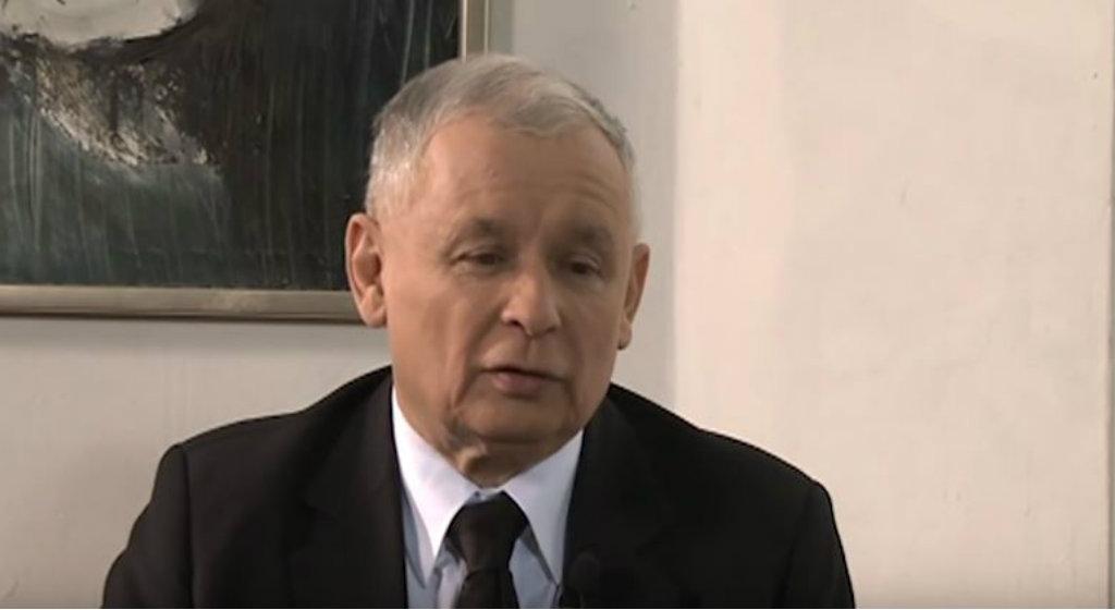 Tragedia! Puste serce Kaczyńskiego