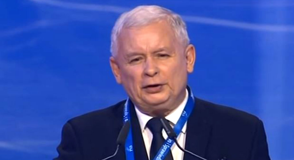 Ujawniono nieznane zdjęcia Kaczyńskiego. Tak bawił się prezes PiS