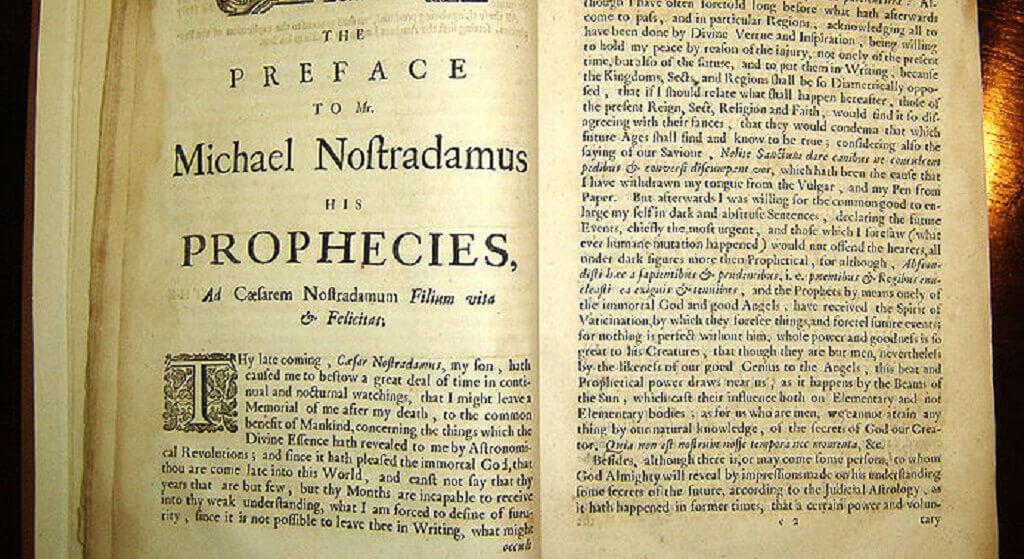 Straszna przepowiednia Nostradamusa. Niebawem wydarzy się coś okropnego