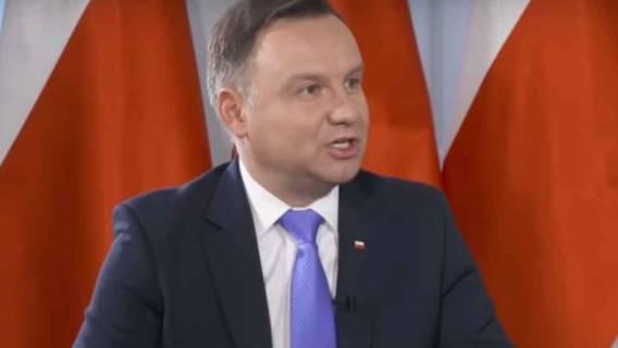 Andrzej Duda ostry jak nigdy! Takiej riposty ze strony prezydenta nikt się nie spodziewał