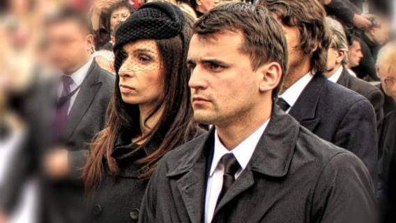 B. mąż Kaczyńskiej ucieka? W panice rusza za granicę