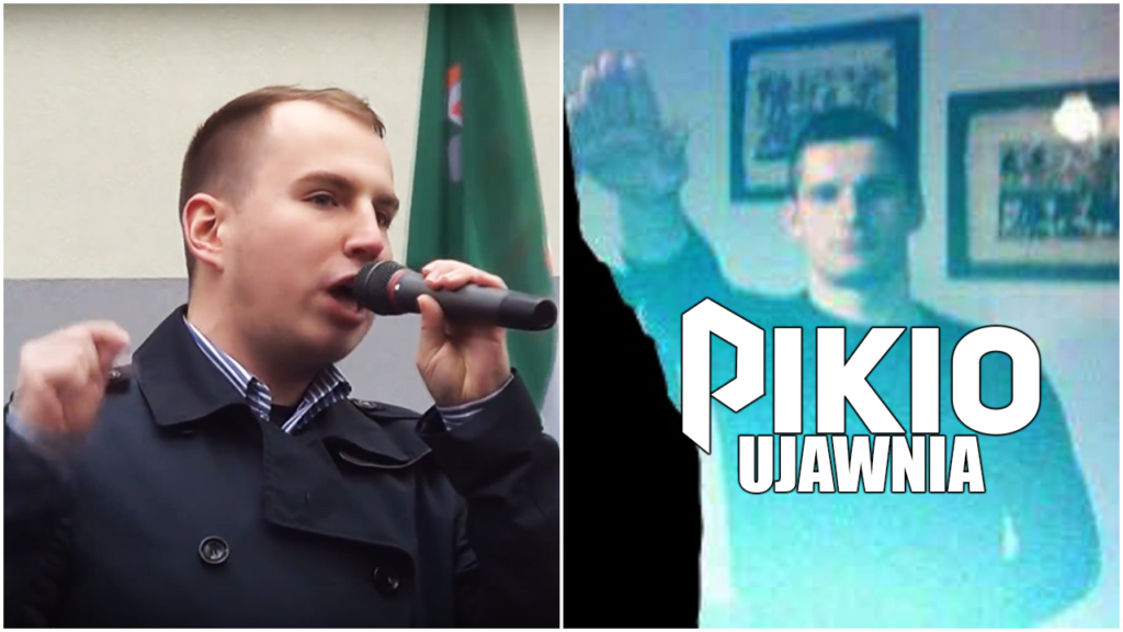 UJAWNIAMY SKANDAL! Były asystent Andruszkiewicza z Sejmu i człowiek PiS HEILOWAŁ