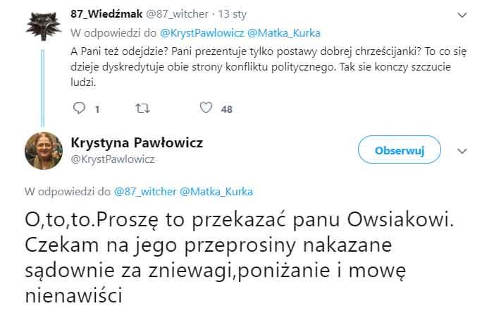 Krystyna Pawłowicz pikio.pl