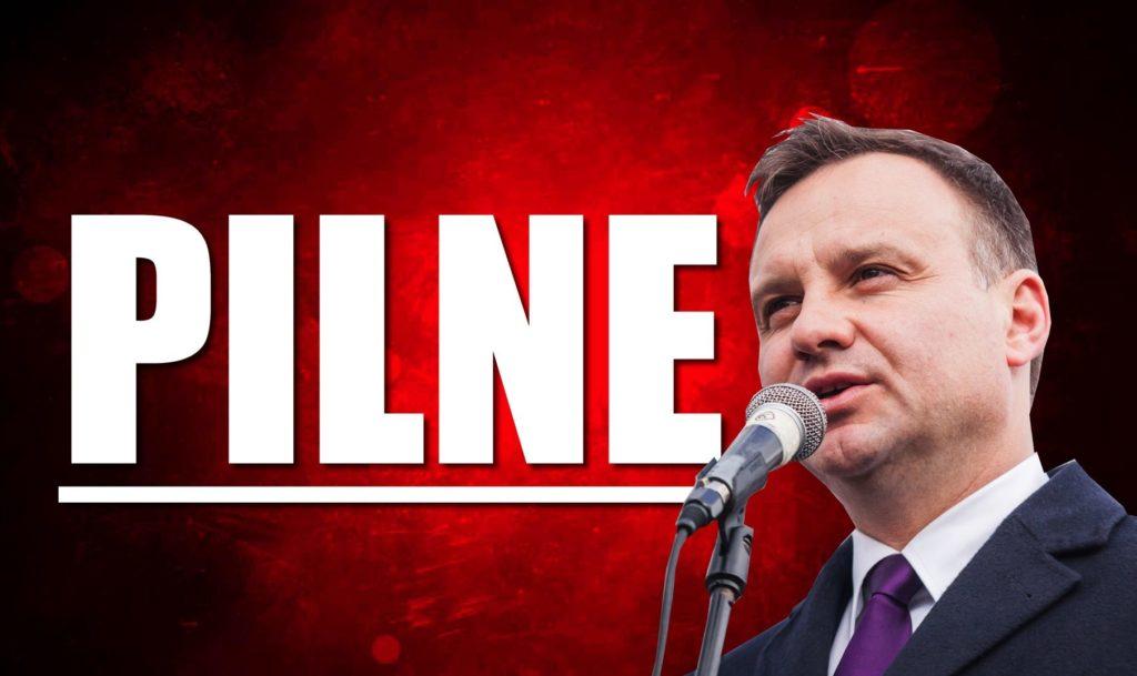 Andrzej Duda zwołał pilne zebranie wszystkich partii! Wielki kryzys po zamachu na Adamowicza