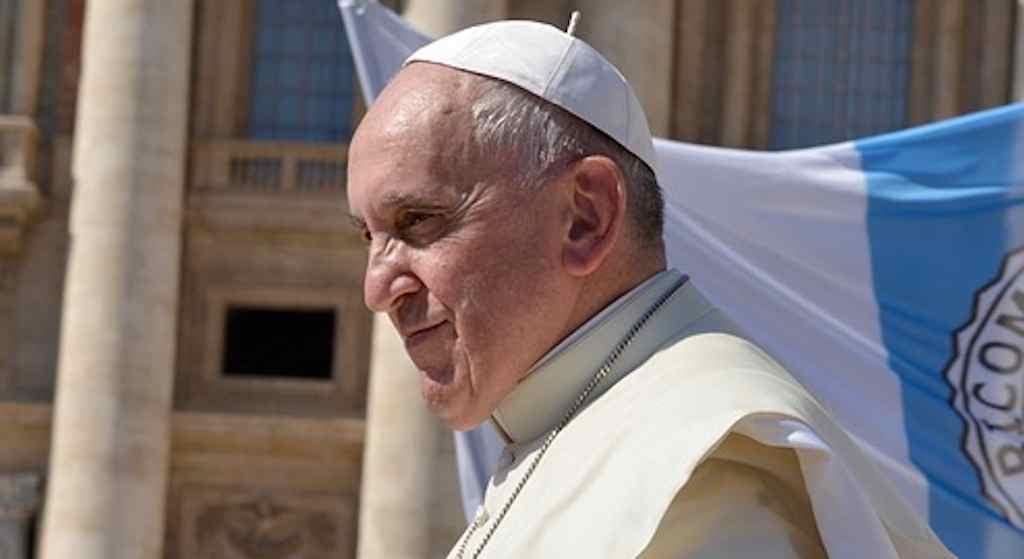 Niesamowite zdjęcie z papieżem Franciszkiem. Nie potrzeba słów by je opisać
