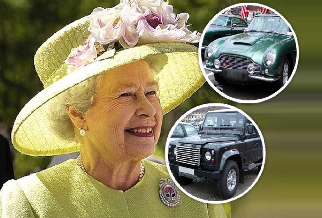 Elżbieta II Kolekcja Samochodów