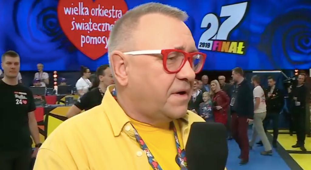 Jurek Owsiak znowu doprowadził wszystkich do łez. Wielki smutek