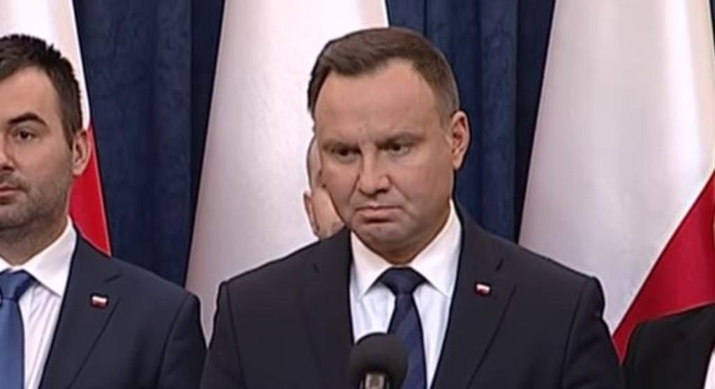 Prokuratura zwolniła mężczyznę, który oświadczył, że jutro umrze Andrzej Duda