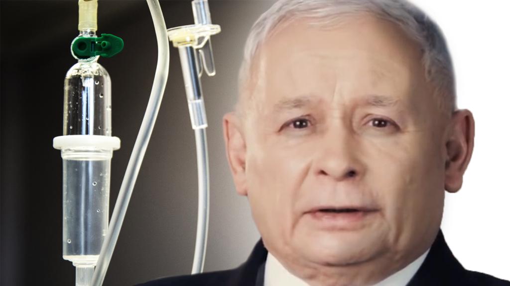Podsłuchany Kaczyński ujawnił prawdę o swojej chorobie. Kłamał w mediach