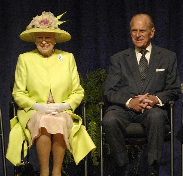Królowa Elżbieta i Filip