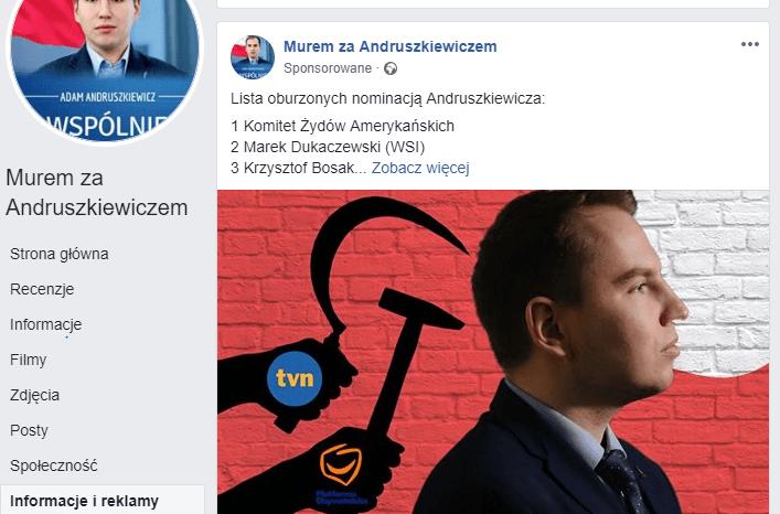 UJAWNIAMY! Tak wyglądają nieoficjalne reklamy Andruszkiewicza