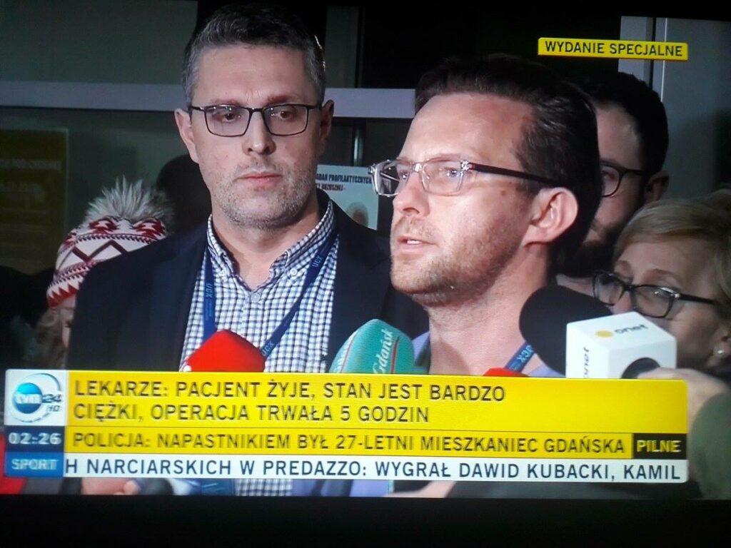 Paweł Adamowicz PRZEŻYŁ operację. Szacun dla lekarzy, niesamowity wyczyn