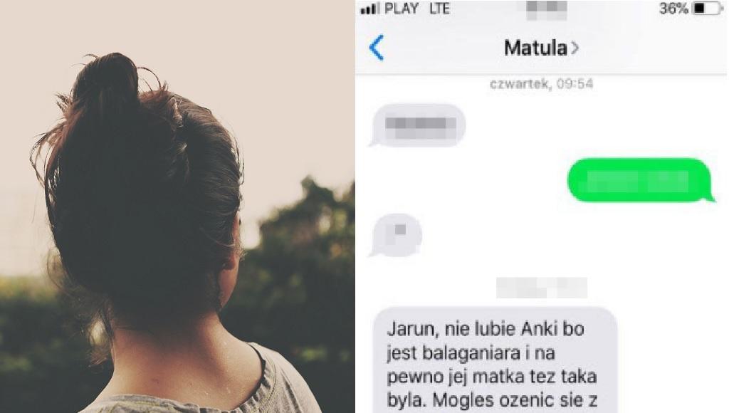 Po ślubie teściowa zaczęła nakręcać syna przeciwko niej. Ania przeczytała te podłe SMS-y