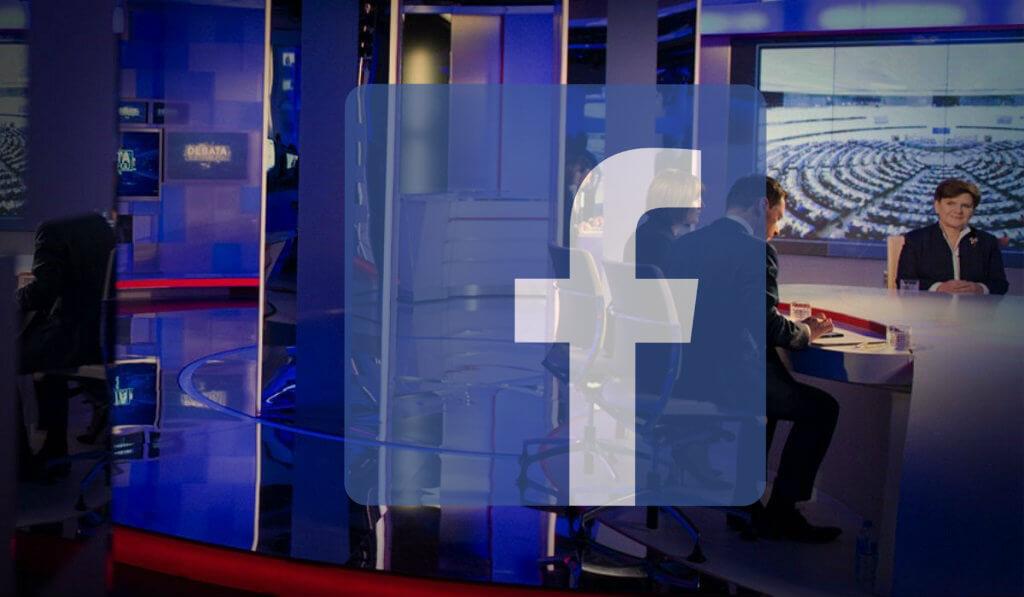 Gigantyczna wpadka TVP na Facebooku! Zapomnieli się wylogować