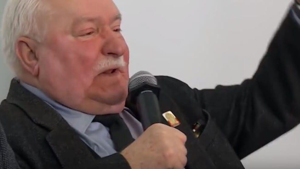 Lech Wałęsa zdenerwował się po pytaniu o Kaczyńskiego. Trochę go poniosło