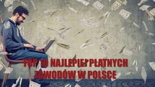 Ile zarabiają Polacy? TOP 10 najlepiej płatnych zawodów