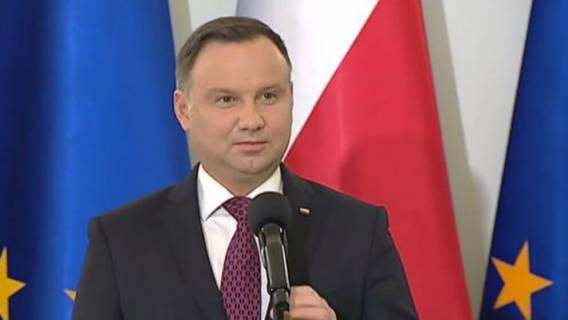 Andrzej Duda o pensji dla swojej żony