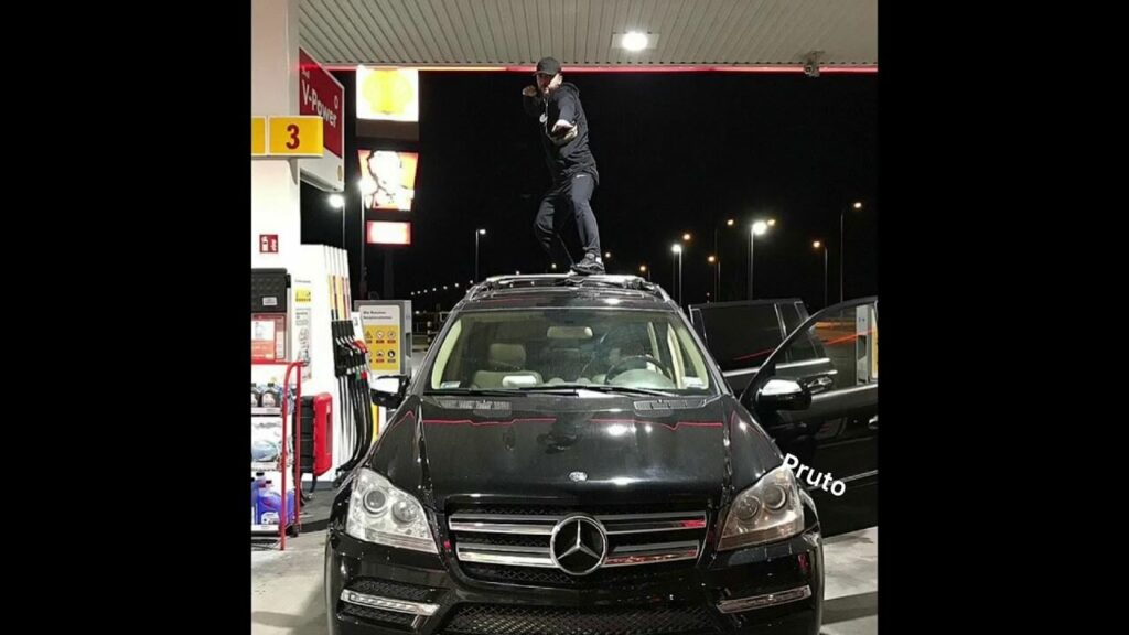 Malik Montana Mercedes auto