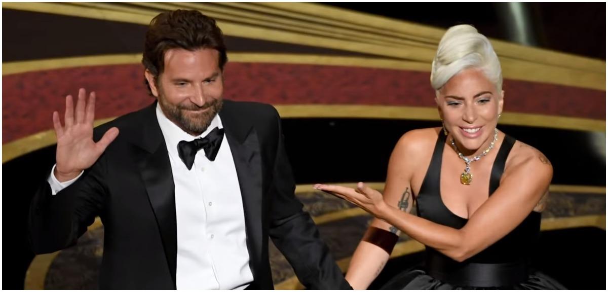 """Lady Gaga i Bradley Cooper razem zaśpiewali """"Shallow"""". Publiczność miała łzy w oczach"""
