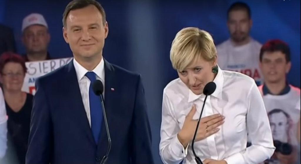 Agata Duda prosiła papieża Franciszka o modlitwę. Polały się łzy