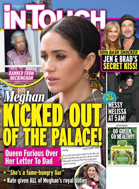 Rodzina królewska Meghan Markle wyrzucona z pałacu