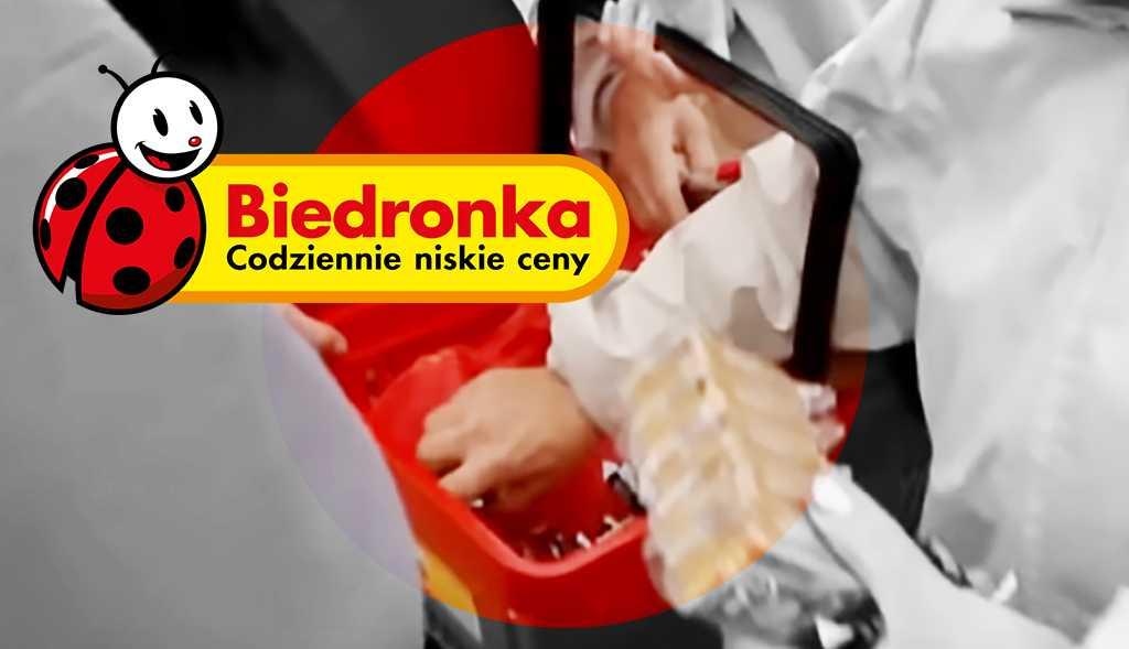 Koszyk z Biedronki