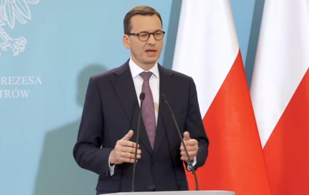 Morawiecki dwukrotnie skazany przez sąd za kłamstwa wygłosił przemówienie o wiarygodności