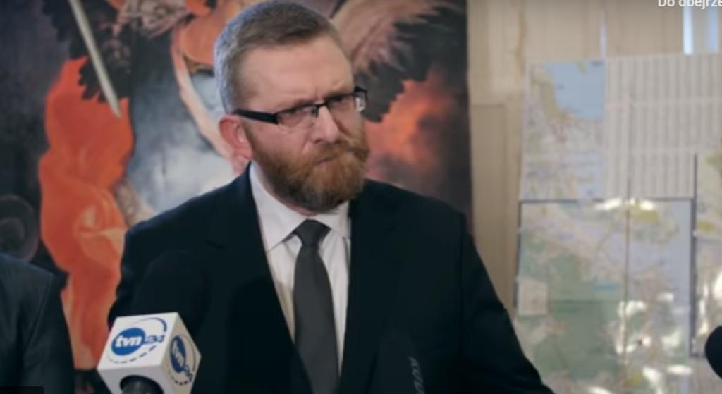 Grzegorz Braun chce wyjaśnić śmierć Adamowicza. Skandaliczne oskarżenia zdaniem wielu