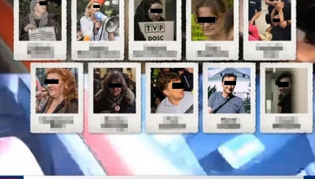 To ich twarze pokazano w materiale Wiadomości. Dostają pogróżki, zapowiadają pozew