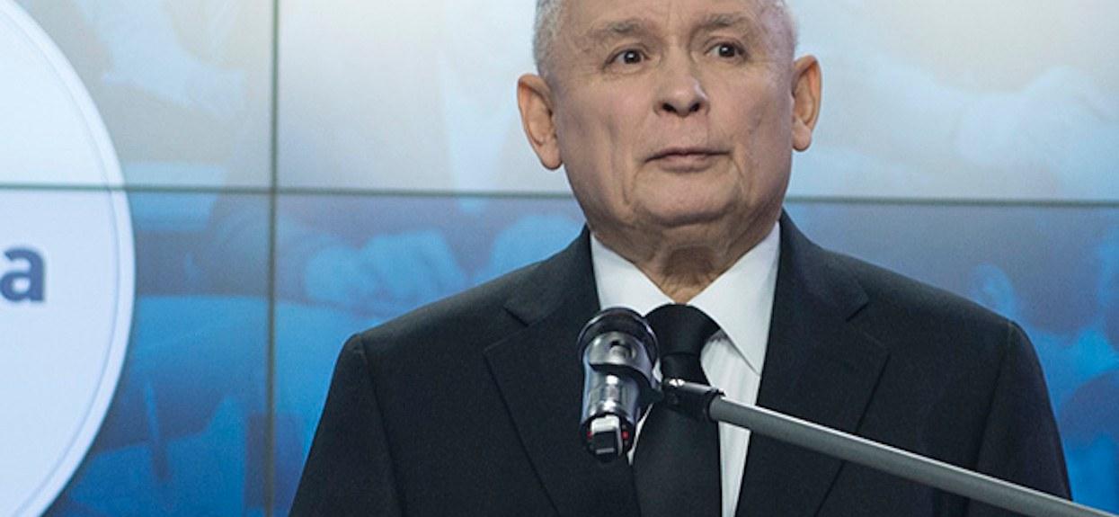 Jarosław Kaczyński: Media pomagają przeciwnikom PiS