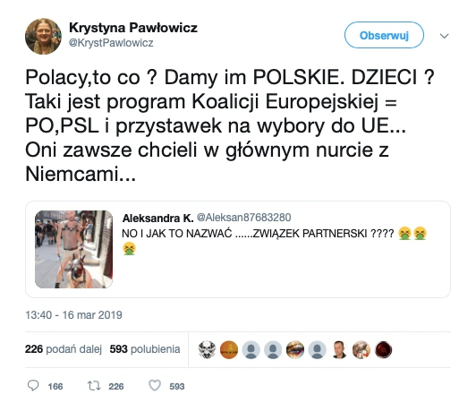 Krystyna Pawłowicz o adopcji dzieci przez pary homoseksualne