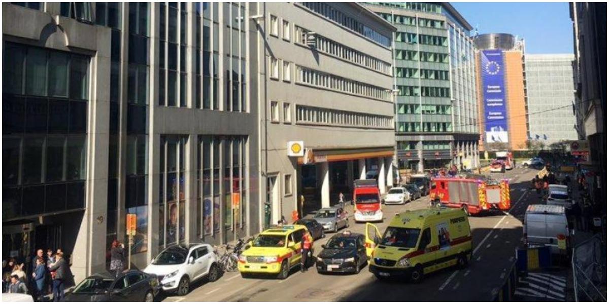 Alarm bombowy w Brukseli. Ewakuowano kilkadziesiąt osób