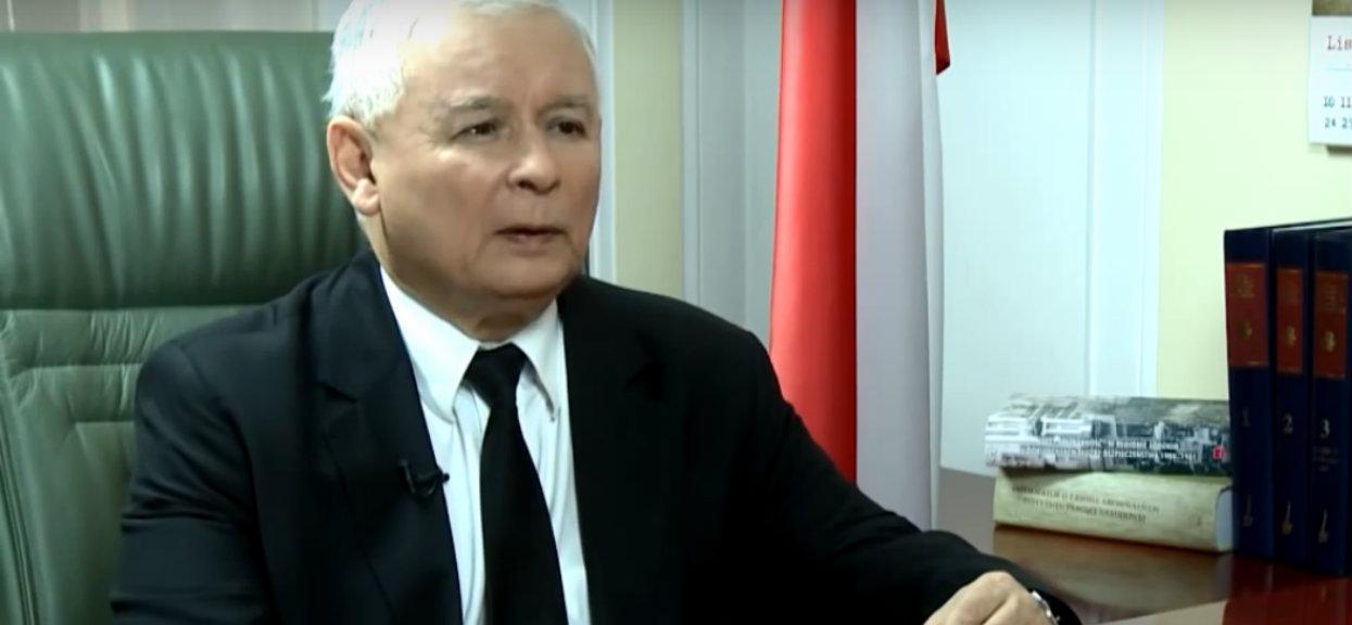 """Kaczyński straszy Polaków. """"Jeśli przegramy, Polska zacznie się cofać"""""""