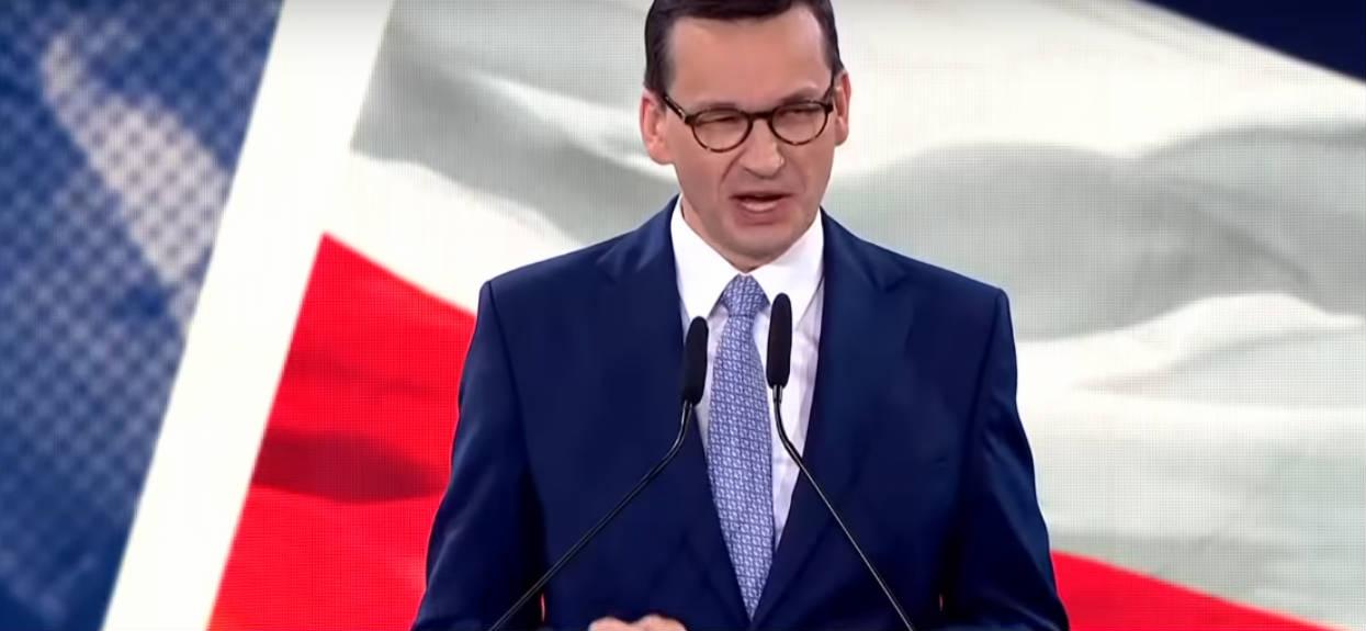 """Morawiecki w przemówieniu do młodzieży: """"Polska jest potęgą!"""""""