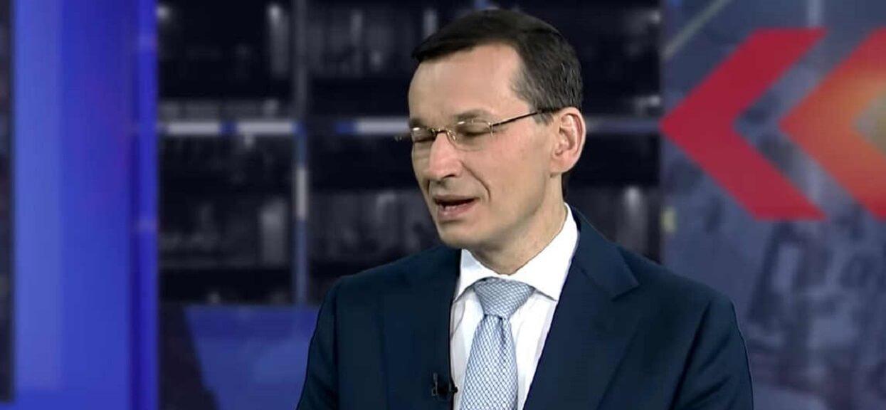 """""""My nie mamy mediów"""". Absurdalna deklaracja Morawieckiego"""