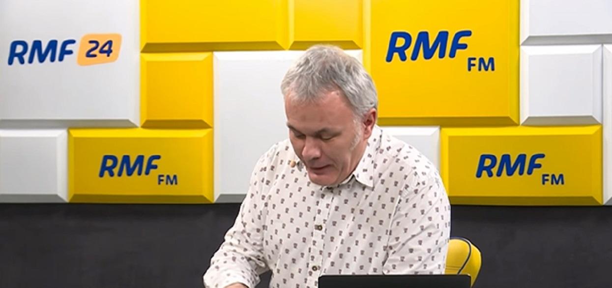 Awantura w RMF FM! Dziennikarz zrównał przeciwniczkę UE z ziemią