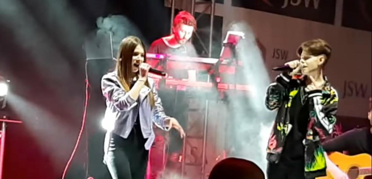 Roksana Węgiel śpiewa ze swoim chłopakiem. Publiczność oszalała (VIDEO)