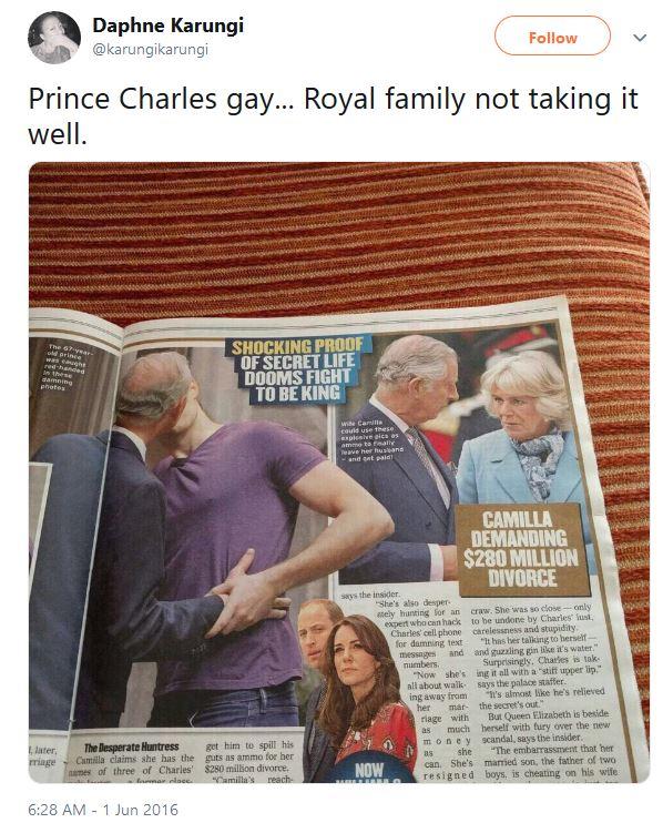 rodzina królewska screen twitter.com