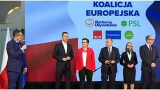 Koalicja Europejska podała pełną listę nazwisk do PE