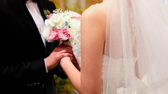 ślub był zwieńczeniem choroby i tragedii
