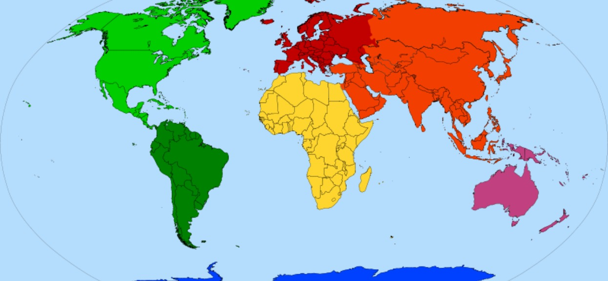 Ile jest kontynentów? Liczba często się zmieniała