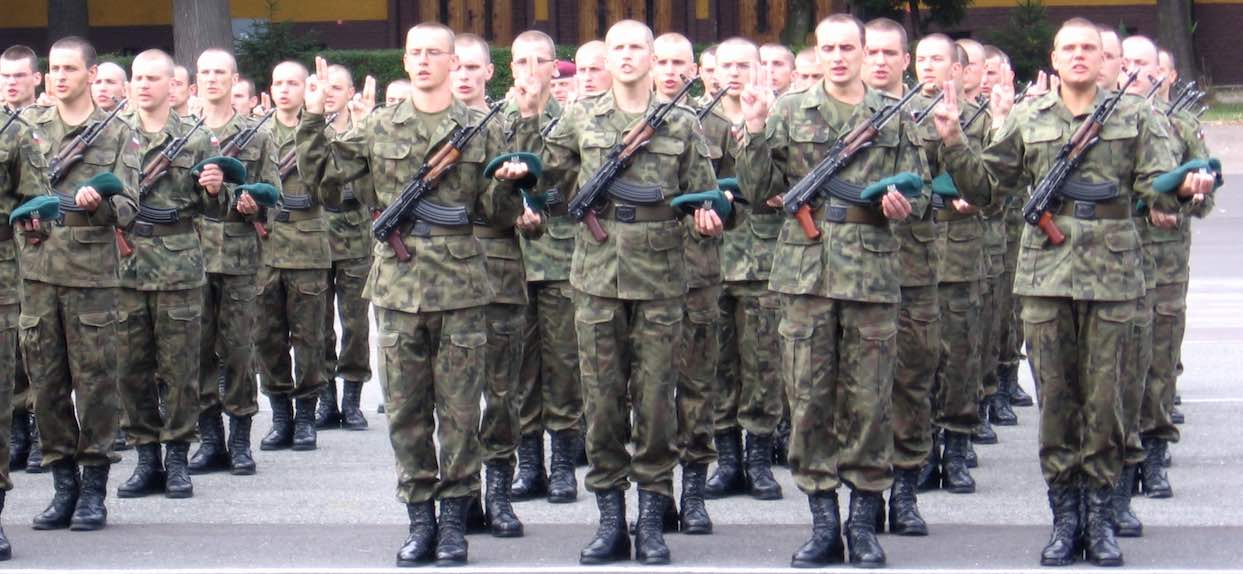 Kiedyś trzeba było znać je na pamięć. Jakie są kategorie wojskowe?