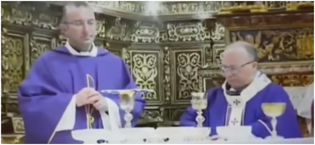 Ksiądz przerwał uroczystą mszę. Wszystko przez szokujące odkrycie