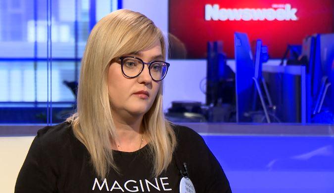 """Magdalena Adamowicz o wyjeździe z Polski na czas kampanii. """"To była trudna decyzja"""""""