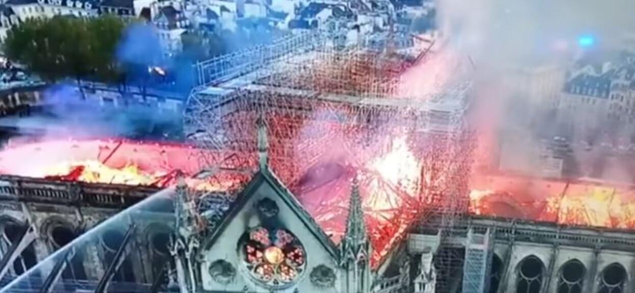 """Terlikowski po pożarze Notre Dame: """"Jeśli się nie nawrócimy, spłoniemy wszyscy"""""""