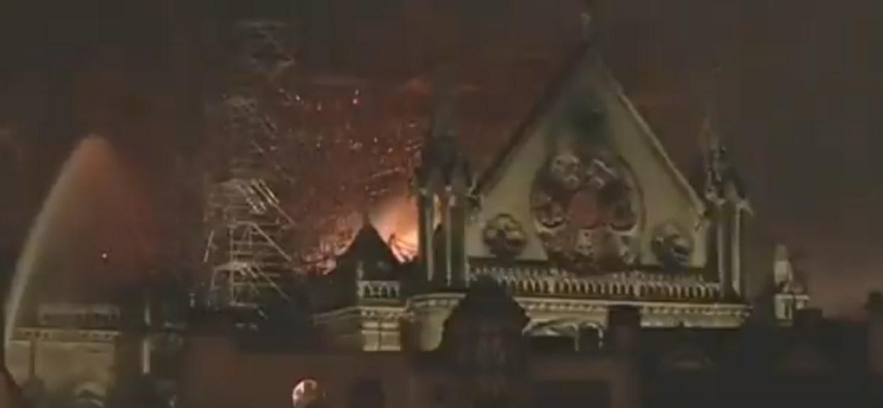 Dobre wieści, katedra Notre Dame nie zawali się. Udało się uratować główną konstrukcję