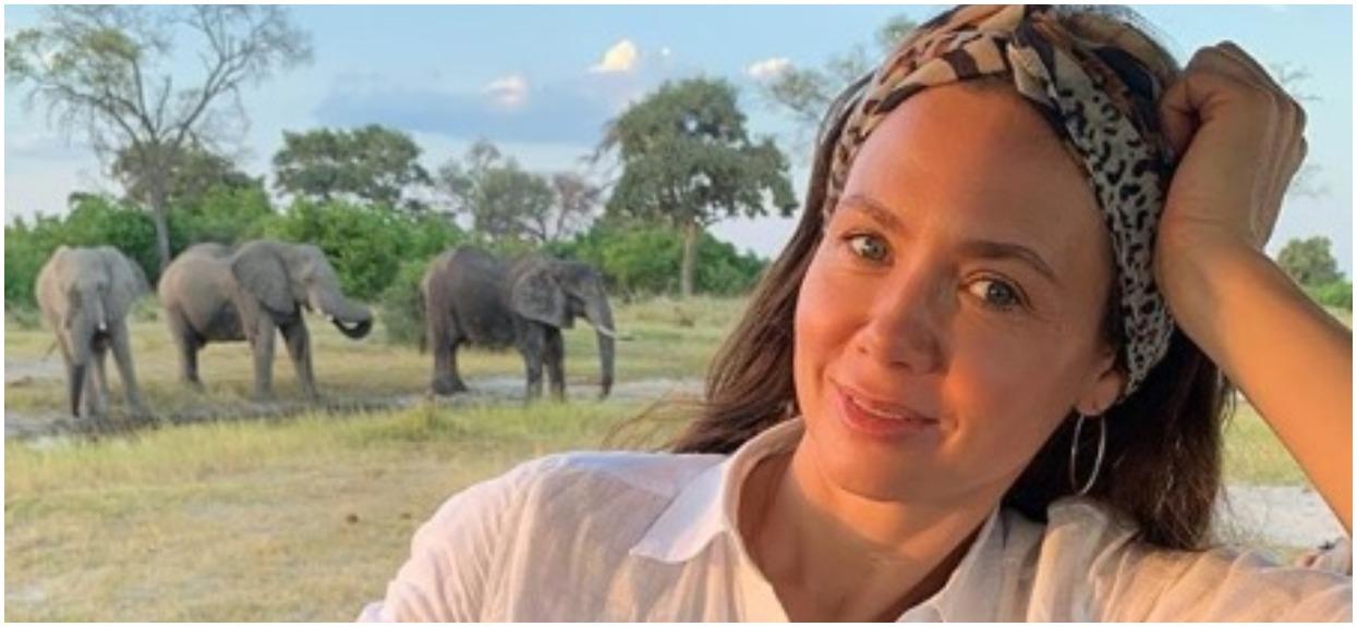 Kinga Rusin wróciła z Afryki. Wszyscy zaczęli gapić się na perfekcyjną stylizację gwiazdy