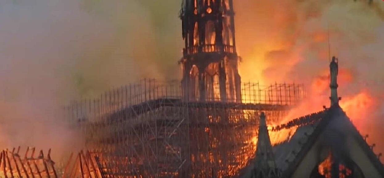 Tuż przed pożarem Notre Dame zrobiono wyjątkowe zdjęcie. Teraz sfotografowanych ludzi szuka cały świat