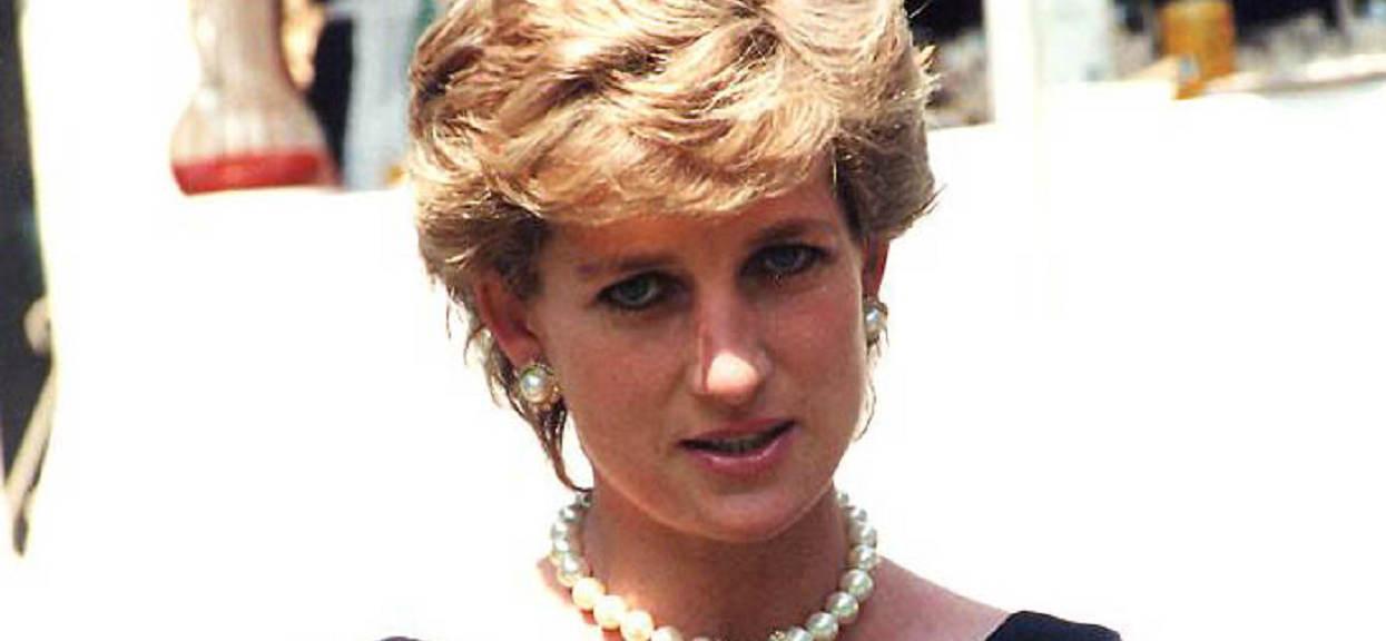 Jedyne takie zdjęcie. Księżna Diana spotkała się z Jasiem Fasolą, wyraz jej twarzy mówił wszystko