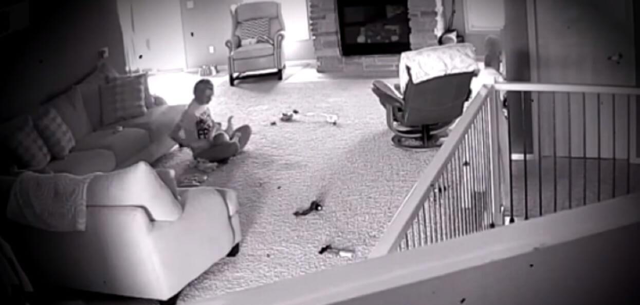 Założył kamery, bo niepokoiło go zachowanie żony. Gdy obejrzał nagranie zadzwonił na policję